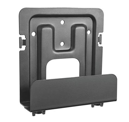 Mount Plus MP-APM-06-02 Streaming Media Player Wall Mounting Bracket for Wide Range of Media Players, Cable and Satellite Boxes, Game Console Such As Apple TV, PS4, Xbox One S (Wide)