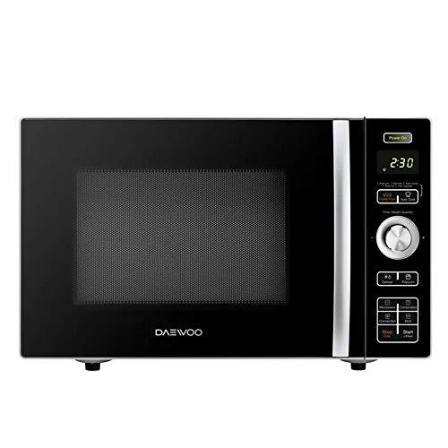 Daewoo KOC-9HAFDB Convection Air Fryer Microwave Oven 0.9 Cu. Ft., 900W | Black