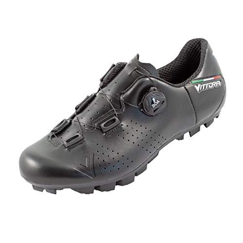 Vittoria Alisè BOA MTB Cycling Shoes (Black, 44.5 EU/10.5 D US)