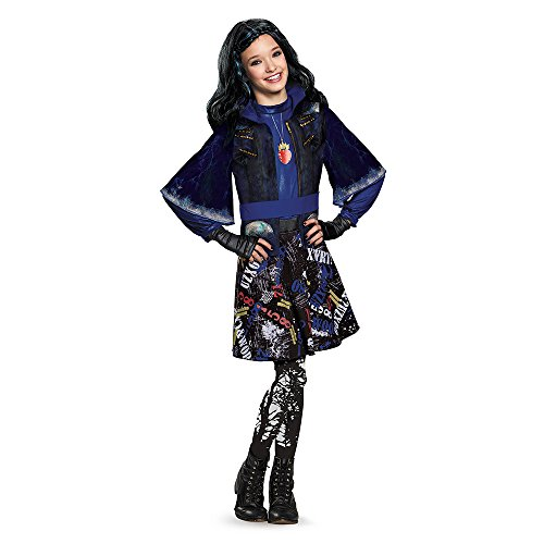 Disguise 88116L Evie Isle Of The Lost Deluxe Costume, Small (4-6x),One Color