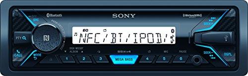 Sony DSXM55BT Bluetooth Marine Digital Media Stereo Receiver SiriusXM Ready, Single DIN