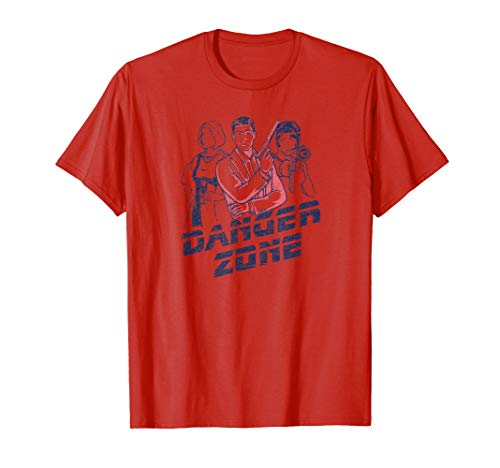 Archer and Girls Danger Zone T Shirt