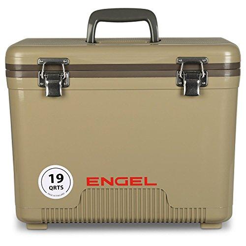 ENGEL UC19T Cooler/Dry Box 19 Qt - Tan, 19 Quart