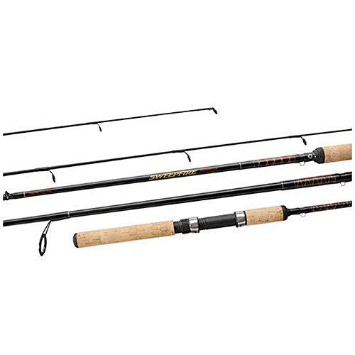 Daiwa SWD661MHFB 10-20 lb Test Rod, Brown