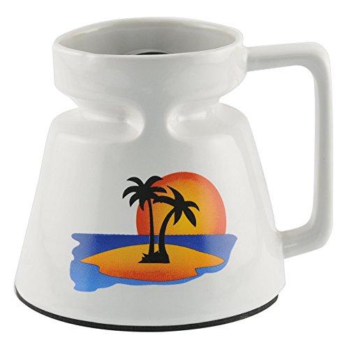 Galleyware Company Non-Skid Travel Ceramic Mugs, 16 oz, Multicolored