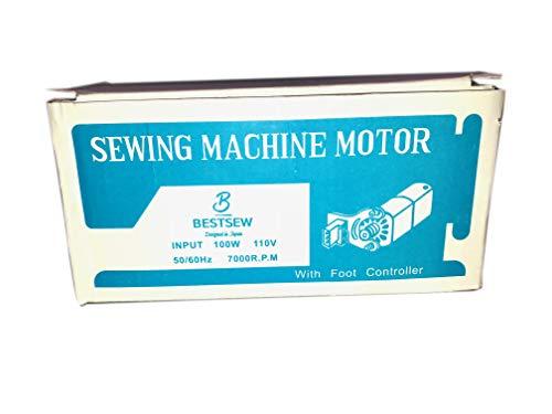 Sewing Machine Motor & Foot Pedal Bestsew w/Free 30 LED Gooseneck Light Magnetic Base-Singer HA1 15 66 99K