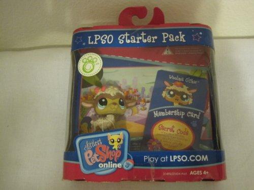 Littlest Pet Shop Online LPSO Web Game Starter Pack Woolma O Chic Sheep