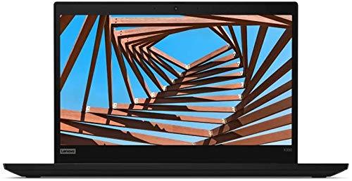 Lenovo ThinkPad X390 Slim and Light Laptop, 13.3' FHD IPS 300 Nits, Core i7-8665U, 8GB Memory, 512GB PCIe Solid State Drive, Webcam, Wi-Fi, Integrated UHD Graphics, Win 10 Professional, Black