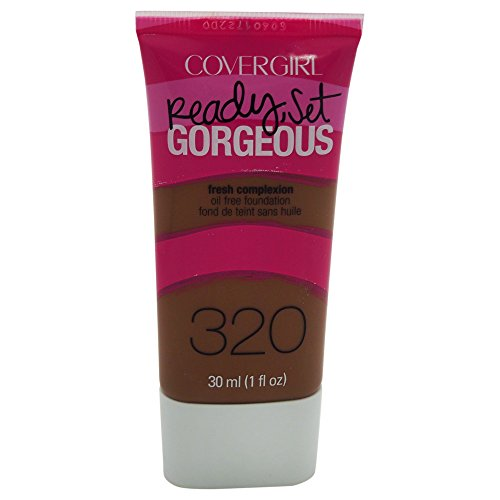 COVERGIRL Ready Set Gorgeous Foundation Soft Sable 320, 1 oz (packaging may vary)
