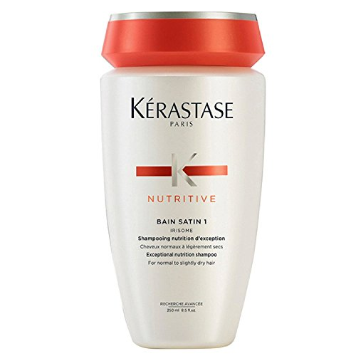 Kerastase Nutritive Bain Satin Nutrition 1 Shampoo 8.5 oz (Pack of 3)