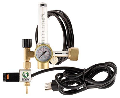 Titan Controls Carbon Dioxide (CO2) Regulator for 120V Controllers & Timers