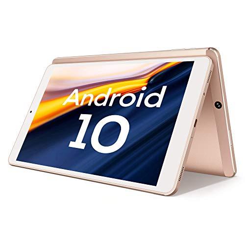 Android 10.0 Tablet, Vastking Kingpad SA10 Octa-Core Processor, 3GB RAM, 32GB Storage, 10-inch, 1920x1200 IPS, 5G Wi-Fi, GPS, 13MP Camera, Bluetooth, Blue Light Filter Screen (Rose Gold)