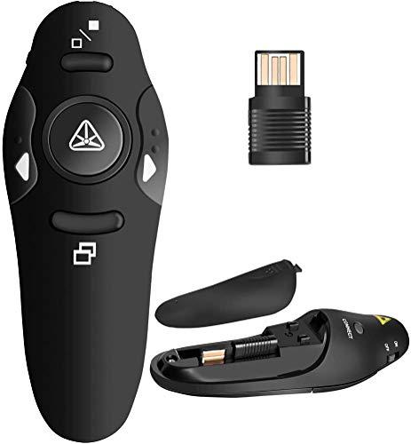 BEBONCOOL RF 2.4GHz Wireless Presenter Remote Presentation USB Control PowerPoint PPT Clicker