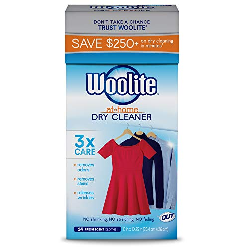 Woolite At Home Dry Cleaner, Fresh Scent, 14 Cloths