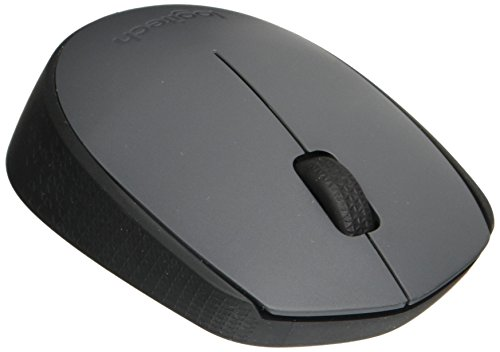 Logitech M170 Wireless Mouse – for Computer and Laptop Use, USB Receiver and 12 Month Battery Life, Gray