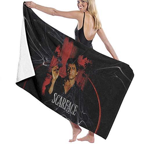 Hwxzviodfjg Scarface Montana Bath Towels Beach Hotel Spa Towel Quick Dry Blanket (32in 52in)