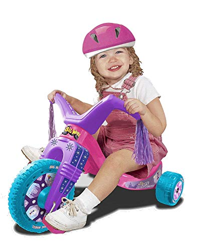 Big Wheel 50th Anniversary Princess Junior Trike Girls Toys - Big Wheel Tricycle for Toddlers - Cruiser Ride-on Toy 8.5 Inch Durable Wheel - Perfect Gift - Indoor/Outdoor Toys