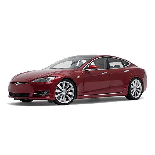 Tesla Diecast Model S P100D Red