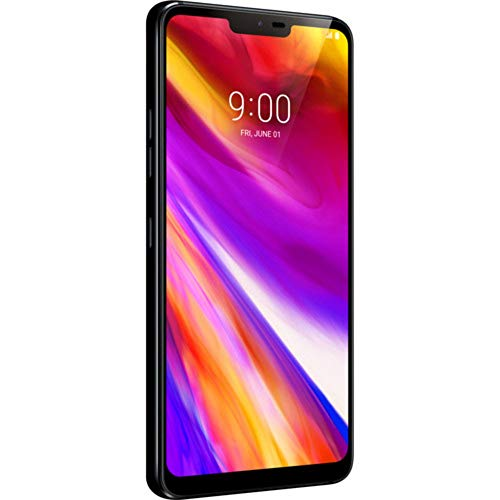 LG Electronics G7 ThinQ Factory Unlocked Phone - 6.1' Screen - 64GB - Aurora Black (U.S. Warranty)