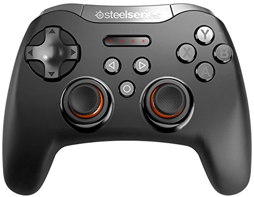 SteelSeries Stratus XL, Bluetooth Wireless Gaming Controller for Windows + Android, Samsung Gear VR, HTC Vive, and Oculus (Renewed)