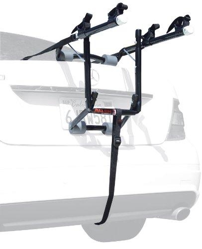 Allen Sports Deluxe 2-Bike Trunk Mount Rack, Model 102DB, Black/ Silver