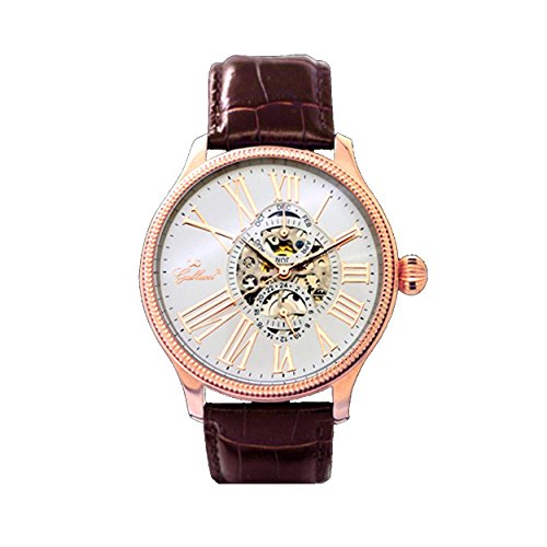 Gallucci Men's Business Skeleton Automatic Watch