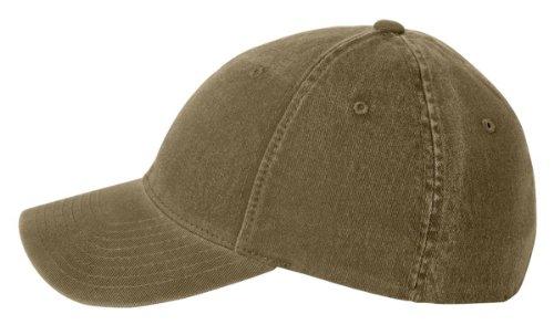 Flexfit Garment Washed Cap, Low Profile, Loden, Large / X-Large