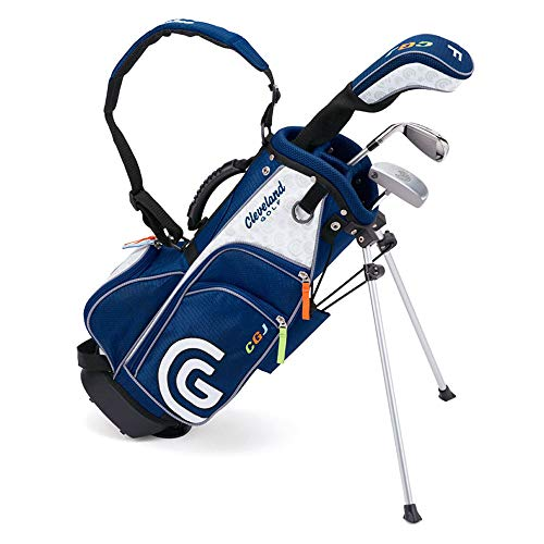 Cleveland Golf Junior Golf Set, Large Ages 10-12, 7 Clubs and Bag