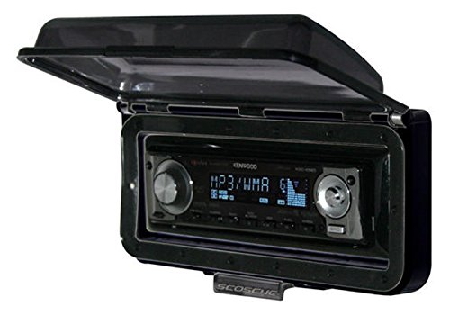 SCOSCHE ACM3 Dash Kit for Aqua Marine Stereo Receiver Cover-Up with Flip Top Door, Black