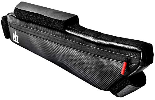 Northseven 3L Carbon XL Frame Bag - Lightweight for Bikepacking   Adjustable Non-Scratch Velcro Design for MTB and Road Cycling