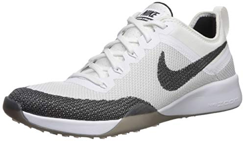 Nike Womens Air Zoom TR Dynamic Running Trainers 849803 Sneakers Shoes (US 6.5, Black White 100)