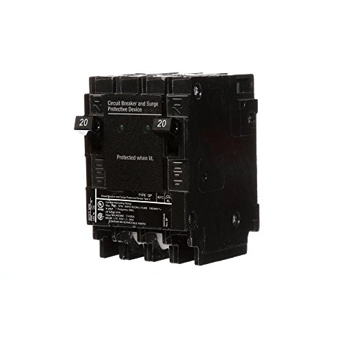 QSA2020SPDP, SIEMENS, 40892280784, SURGE (2)20A 1P 120V BREAKERS AND SPD