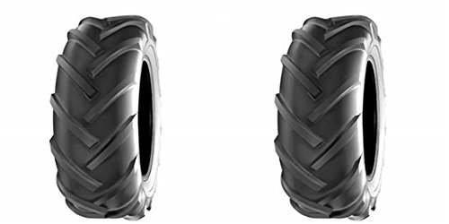 DEESTONE Two- 23x10.50-12 23x1050-12 D-405 R-1 Trencher Lug Tires Heavy Duty 6PLY Rated