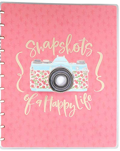 Create 365 Happy Memory Keeping Undated 12-Month Big Planner, Multicolor