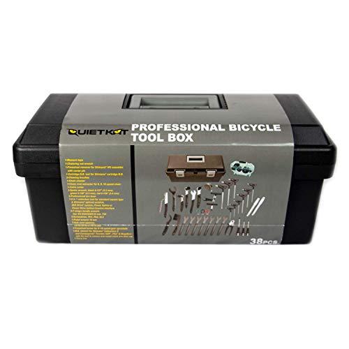 QuietKat Advanced Tool Kit, Featuring 38 E-Bike Tools