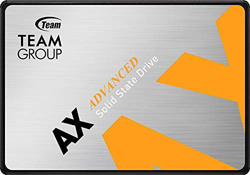 TEAMGROUP AX2 512GB 3D NAND TLC 2.5 Inch SATA III Internal Solid State Drive SSD (Read Speed up to 540 MB/s) Compatible with Laptop & PC Desktop T253A3512G0C101