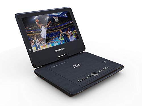 "Sylvania 10"" Portable Blu-ray Player with Swivel Screen - Black- SDVD1079"