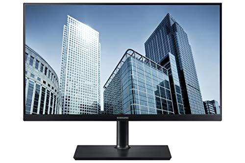 SAMSUNG SH850 Series 24-Inch WQHD (2560x1440) Computer Monitor, Display Port, HDMI, USB-C, Height Adjustable Stand, 3 Yr WRNTY (LS24H850QFNXZA)