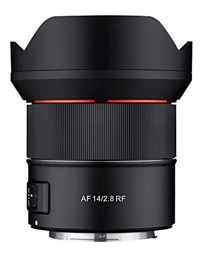 Samyang AF 14mm F2.8 Wide Angle Auto Focus Full Frame Weather Sealed Lens for Canon RF Mount, Black (SYIO14AF-RF)