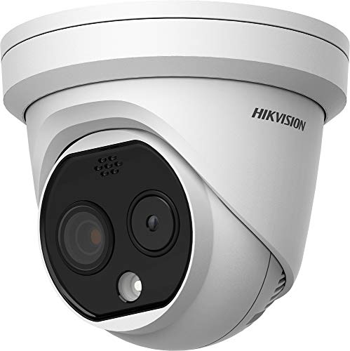 Hikvision DeepinView DS-2TD1217B-3/PA Outdoor Thermal & Optical Network Turret Camera