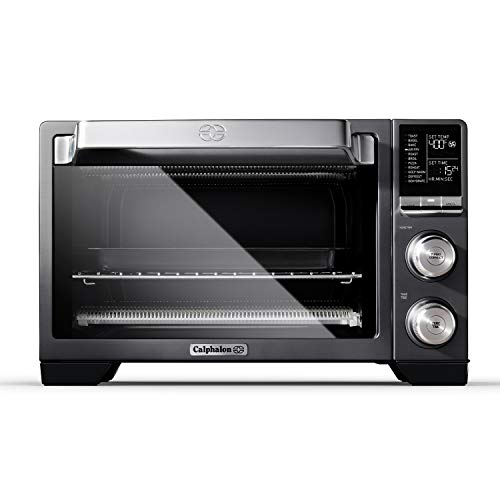 Calphalon Performance Air Fry Convection Oven, Countertop Toaster Oven, Dark Stainless Steel