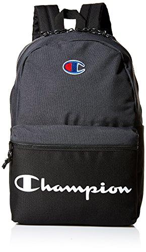 Champion Men's Manuscript Backpack, black, One size