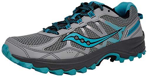 Saucony Women's Excursion TR11 Grey/Blue Running Shoe 9 W US