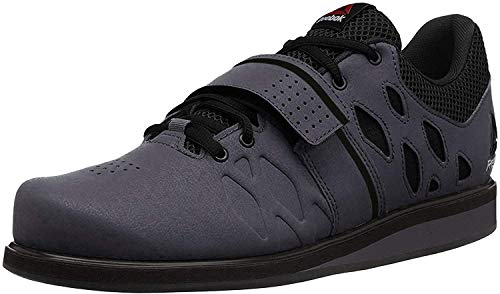 Reebok Men's Lifter Pr Cross-Trainer Shoe, Ash Grey/Black/White, 11 M US