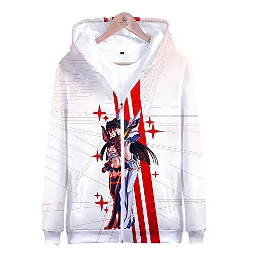 GO2COSY Anime Kill la Kill Jacket Cosplay Ryuko Matoi Hoodie Sweatshirt Costume Pullover
