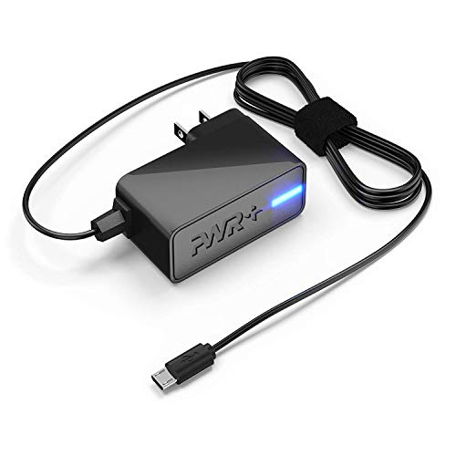 Pwr+ UL Listed 3.5A Charger for NVIDIA Shield K1, Nextbook 7 Ares 8 10A, CHUWI HI8, DigiLand, Hisense, Xiaomi, Huawei Tablet PC - 6.7 Ft Power Cord