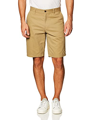 Dockers Men's Classic-Fit Perfect-Short - 32W - New British Khaki (Cotton)