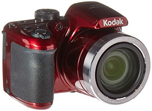 Kodak AZ401RD Point & Shoot Digital Camera with 3' LCD, Red