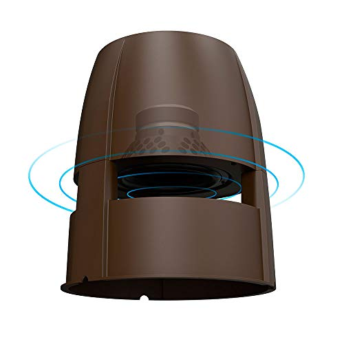 OSD Forza 8' Omni Speaker 360° Sound Dispersion 200W Reinforced Weather Resistant Durable Cabinet Bronze, Single
