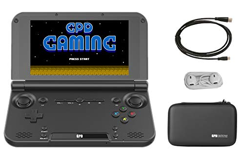 "GPD XD Plus [Latest & Most Stable Update] Portable Handheld Video Gaming Console, 5"" Touchscreen, Android 7.0, MT8176 CPU, PowerVR GX6250 GPU, 4GB RAM / 32GB ROM, WiFi, Bluetooth"